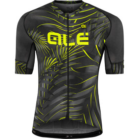 Alé Cycling Graphics PRR Sunset SS Jersey Herre black-yellow flou